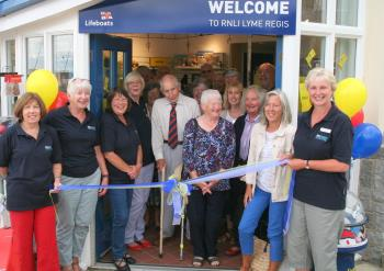 New look Lyme Regis Lifeboat Shop